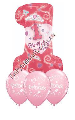 1st Birthday Princess Bouquet
